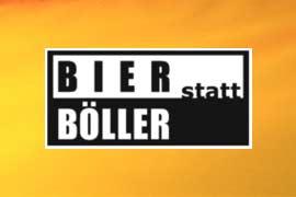 Bier Statt Böller