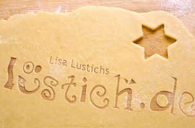 Weihnachtskekse von Lisa Lustich